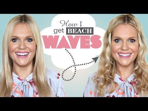 HOW TO GET BEACH WAVES! Hair Makeover!