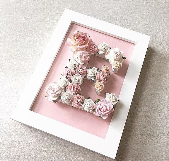 Unique gift suitable for many occasions.  You will received a personalised floral letter in a colour scheme of your choice framed in a simple photo frame. You will also have choice of background colour.  This is for a 7x5 simple frame with a 10cm floral letter.  If you would like a bigger framed floral letter then please contact me for a quote.