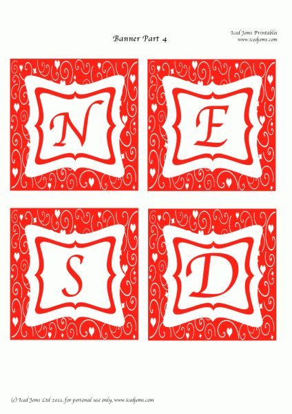 FREE Valentine's Day Printables- banner: Valentine'S Day, Free Valentines Day Banner5, Valentines Printable, Printable Banners, Mutlu Yillar, Free Happy, Free Printable, Yillar Asya, Happy Valentines