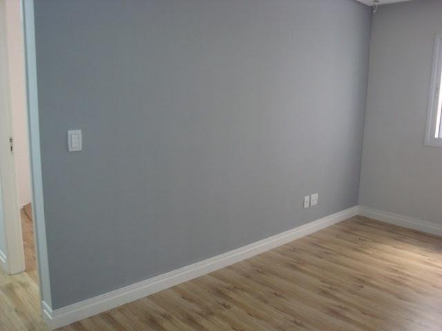 parede cinza