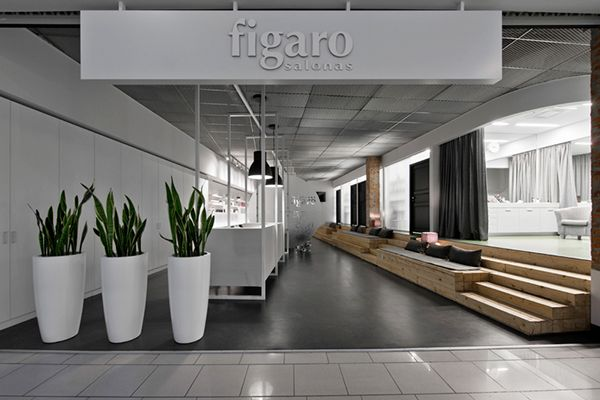 Figaro Beauty Salon on Behance