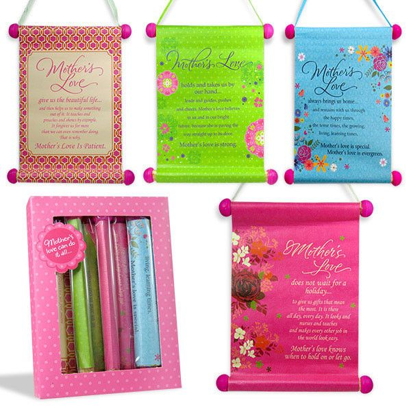 Mothers love scroll a bunch of 4 scrolls  Mothers love scroll a bunch of 4 scrolls | Rs. 375 | Shop Now | https://hallmarkcards.co.in/collections/mothers-day-2016/products/mothers-day-scroll-2016