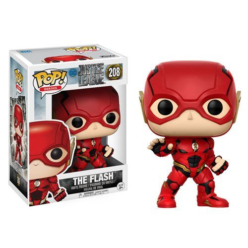 Justice League Movie The Flash Pop! Vinyl Figure - Funko - Justice League - Pop! Vinyl Figures at Entertainment Earth
