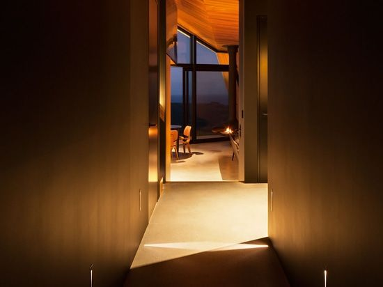 The Crossing Is A Private Home Built On The Original Cattle Tablelands  Overlooking Pakiri Beach. The House Fuses Together A Limited Material  Palette Of ...