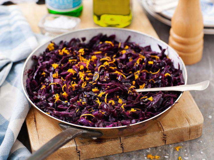 Fräst rödkål med balsamvinäger och apelsin | Recept från Köket.se