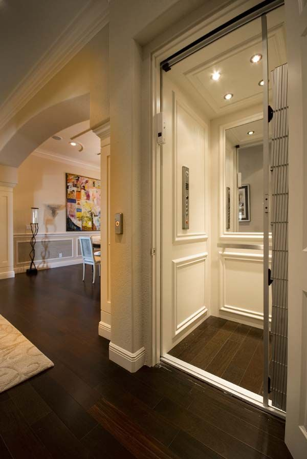 Residential Home Elevator in 2020 | House elevation ...