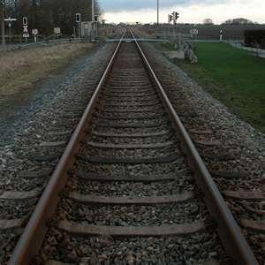 walking up the railroad tracks