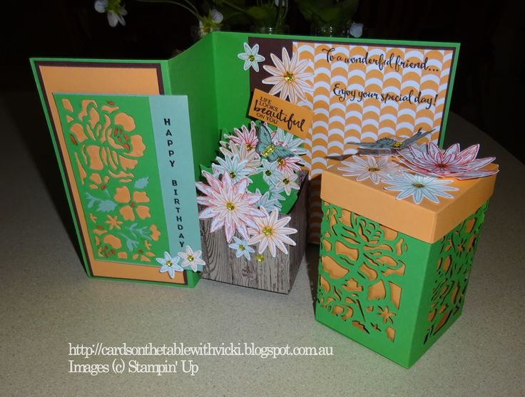 Featuring: Double Z Fold Card, 3D, Grateful Bunch, Blossom Bunch punch   Today I would like to show you a card that is a slightly different...