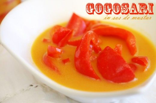 Gogosari in sos de mustar - Retete culinare by Teo's Kitchen