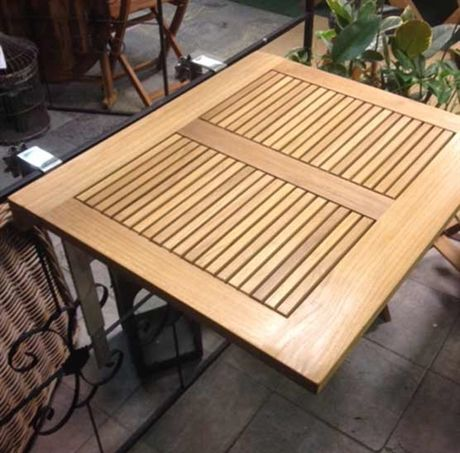 Balkongbord i teak