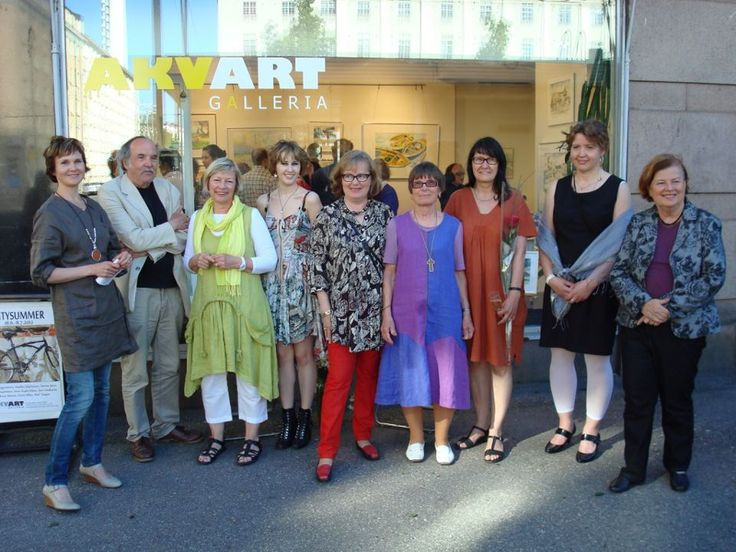 Art gallery Akvart together with finnis artist.