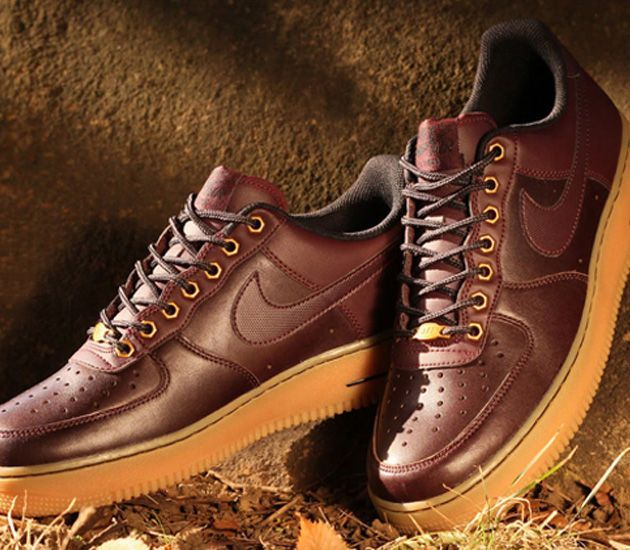 Nike Air Force Brown Leather
