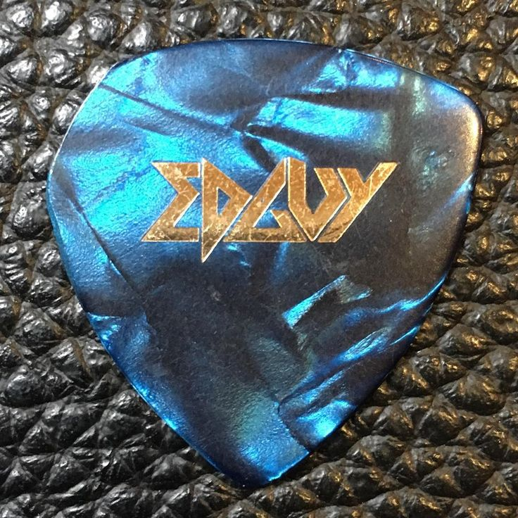 #edguy Custom tour #guitarpick - I just added a bunch of #vintage and #rare #picks to my #ebay store - check out eBay sellername DANIELCOHENCOM