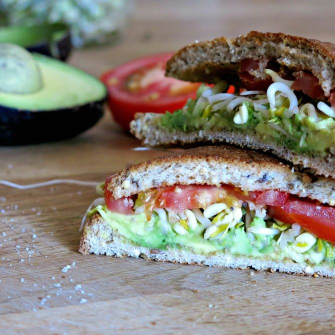 club sandwich avocado and sprout club sandwich recipe yummly sprout ...