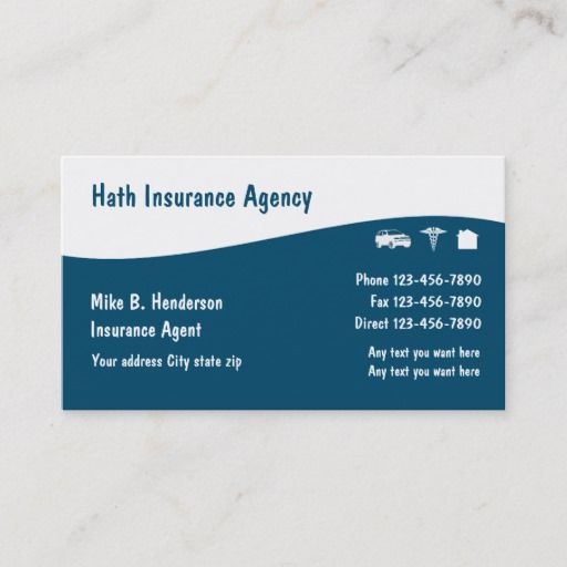 Multiple Line Insurance Business Cards Zazzle Com In 2021 Business Insurance Business Insurance