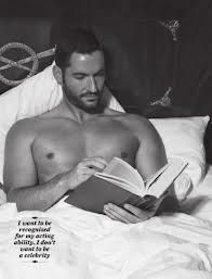 Apparently Tom Ellis will be Mary's new beau in season 4 of Downton Abbey.  I think I could like him . . .