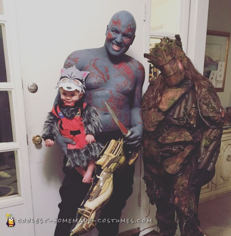 guardians of the galaxy family costume - Family Halloween Costumes For 4