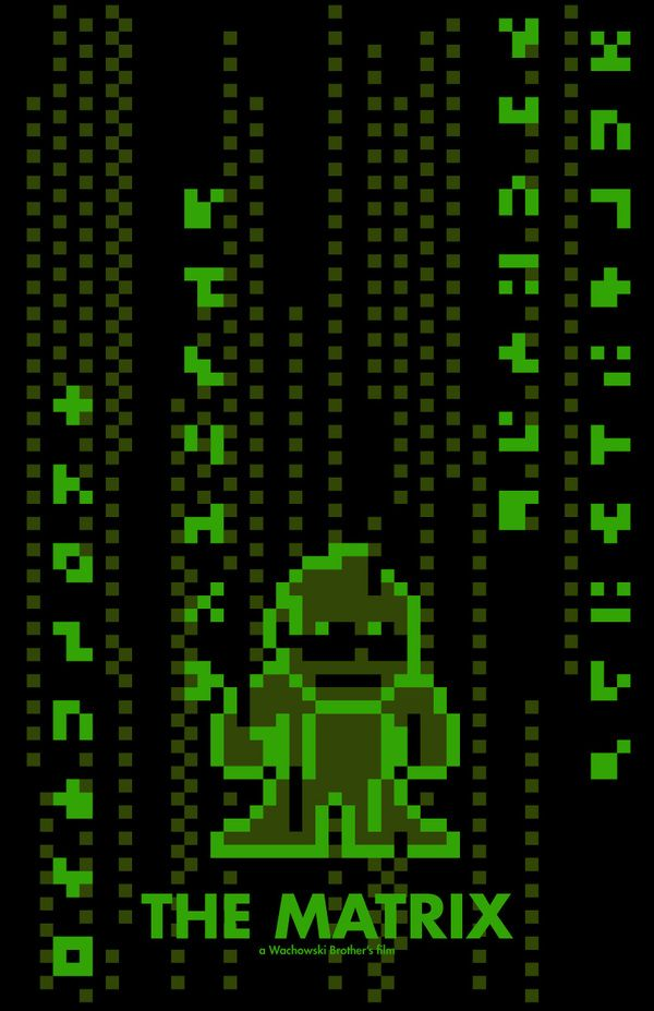 The Matrix.. 8bit
