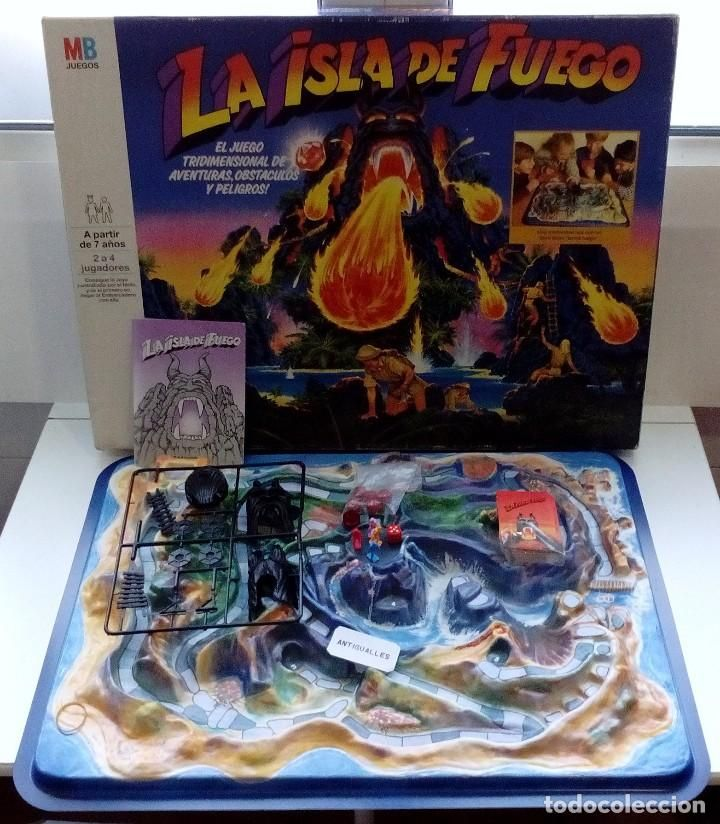 Juego De Mesa La Isla De Fuego Mb Nuevo A Estrenar Similar A Exin