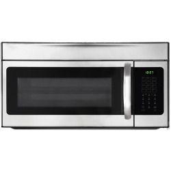 Cheap Frigidaire FFMV154CLS 1.5 cu. ft. Over the Range Microwave Oven with 900 Cooking Watts, Two Speed 300 CFM Venting System, Bake/Brown Convection Option, Multi Stage Cooking, One Touch Options, Ready Select Controls and Incandescent Cooktop Lighting