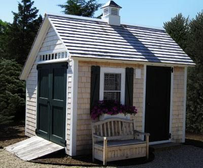 X Stony Brook Saltbox   Modern   Sheds   Other Metro   Walpole Outdoors