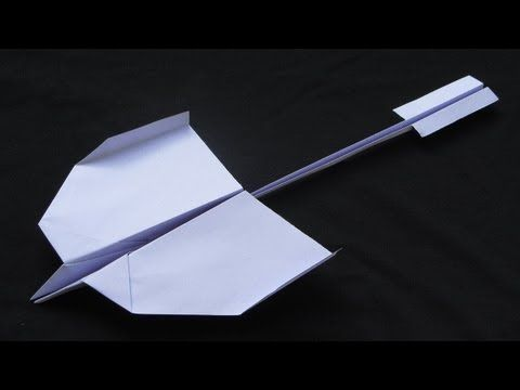 How to make a Paper Airplane that flies Far - Awesome - The Best Video Tutorial | Swallow / Martin