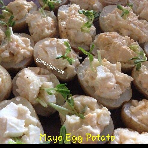 Mayo Egg Potatoes