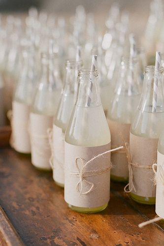 Sweet bottle idea for spring or summer