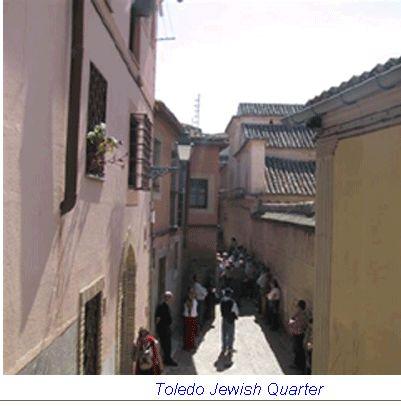 Jewish Quarter, Toledo, Spain