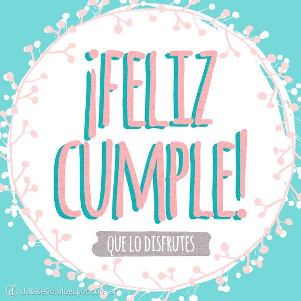 Tarjeta de cumpleaños #Cumpleaños Inspirate con estos diseños exclusivos, descargalos gratis y aplicalos en donde más te guste! ► DESCARGAR GRATIS en alta calidad