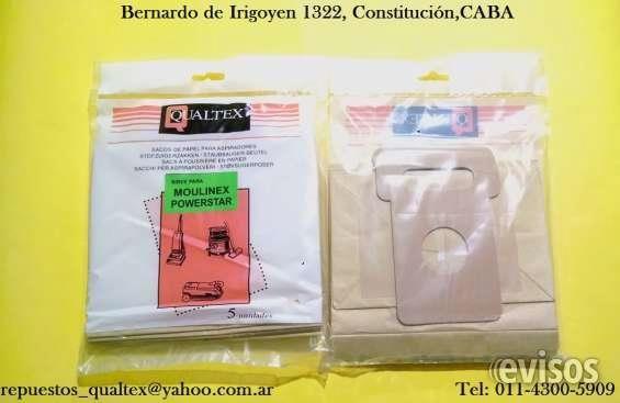 BOLSAS DE PAPEL PARA ASPIRADORAS MOULINEX Qualtex®                    Repuestos Y Accesorios para Electrodomésticos ... http://constitucion.evisos.com.ar/bolsas-importadas-y-accesorios-para-aspiradoras-id-14914
