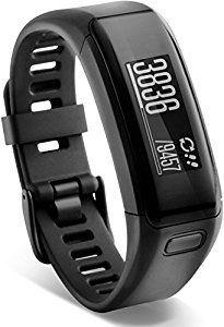 Garmin Vívosmart HR - pulsera de actividad con pulsómetro integrado Garmin Elevate, color negro, talla XL