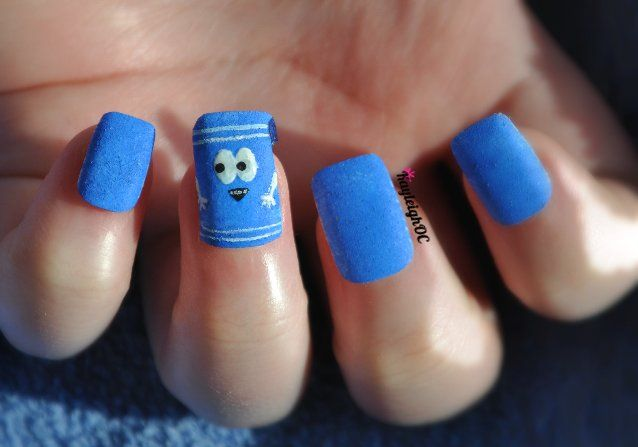 South Park Nail Art - Towelie by ~KayleighOC on deviantART