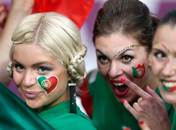 Euro Cup - Netherlands send home by the Portuguese team. Well, they had the right supporters.... :)