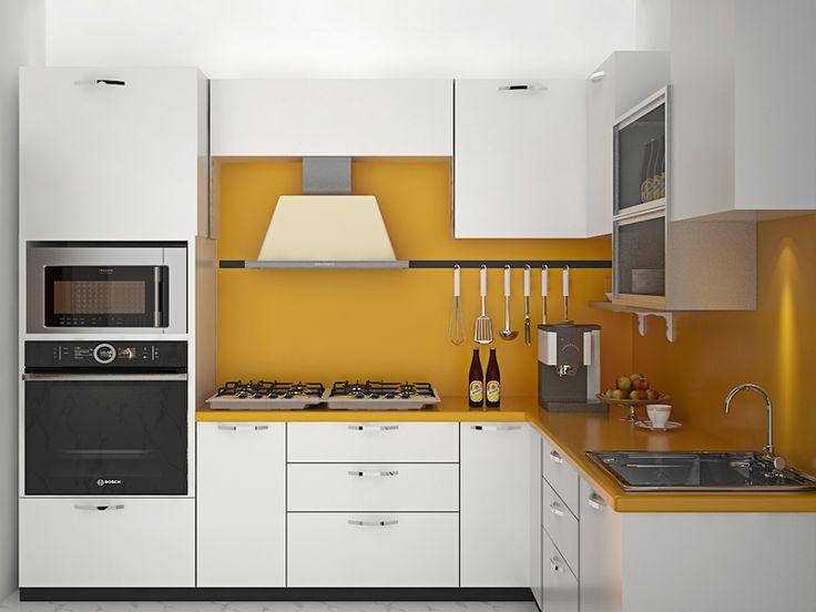 Get L Shaped Modular Kitchen Interior Design Ideas In Delhi NCR At Yagotimber Modern Cabinet Designers Online Gurgaon Noida