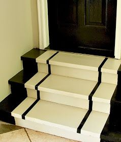 Top This Top That: How to Snaze up the Garage Steps...Simple Steps For Painting Steps