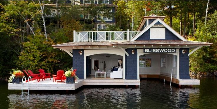 Muskoka living interiors dream houses pinterest boat for Boat house plans pictures