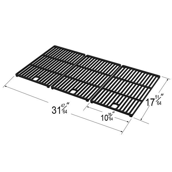 3 PACK REPLACEMENT COOKING GRID COMPATIBLE WITH MASTER CHEF GAS GRILL MODELS  Fits Master Chef Models:   L3218  BUY NOW @ https://www.bbqtek.com/shopexd.asp?id=708&sid=4872
