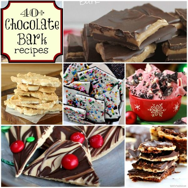 Chocolate Bark Candy has got to be the easiest candy in the world to make. Start with chocolate almond bark, candy melts, baking chocolate or even chocolate chips and then add in your favorite mix ins. There is no wrong recipe for it. Add in candy, cookies, nuts, even bacon. let your imagination go wild!