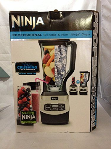 Special Offers - Ninja Professional Blender with Single Serve Blending Cups - In stock & Free Shipping. You can save more money! Check It (May 25 2016 at 01:31AM) >> http://foodprocessorusa.net/ninja-professional-blender-with-single-serve-blending-cups/