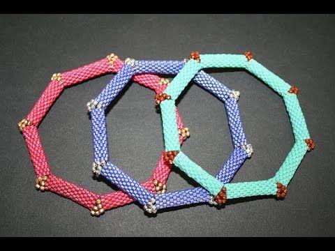 Ciao a tutti! Cercate un'idea per un bijoux originale? In questo video vi mostriamo come creare un bracciale rigido ottagonale con la tecnica del Peyote Pari...