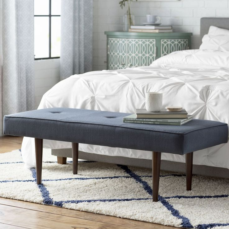 13 best upholstered bench images on Pinterest | Bed in, Benches ...
