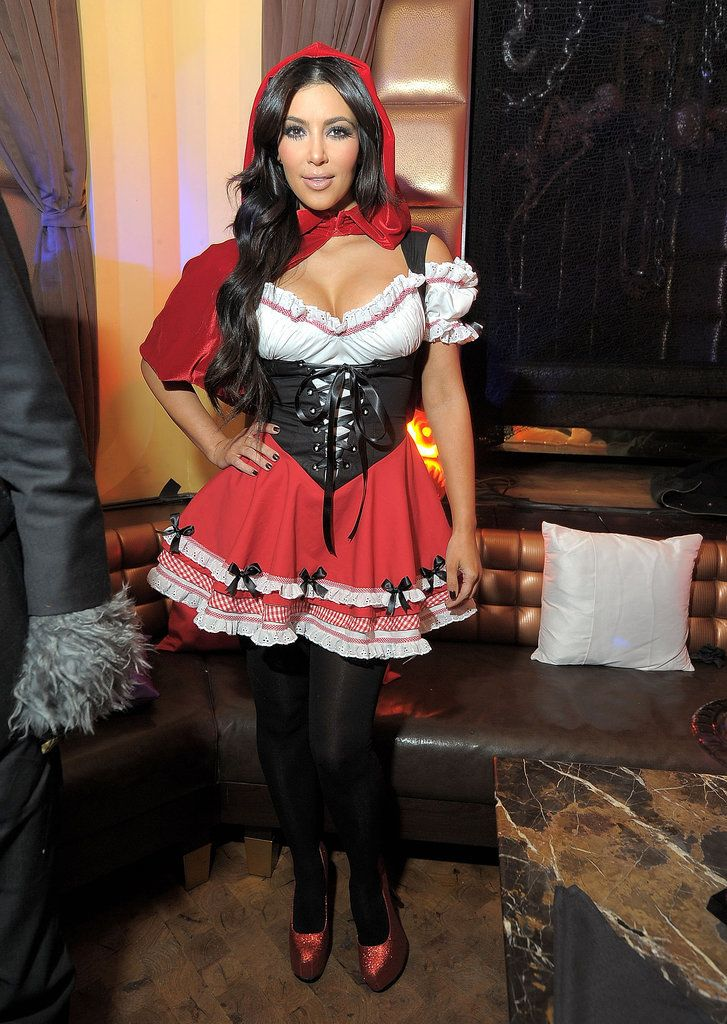 What do you think about Kim Kardashian's Little Red Riding Hood Halloween costume?