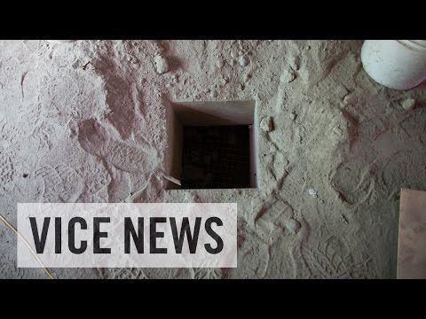 En el túnel del Chapo