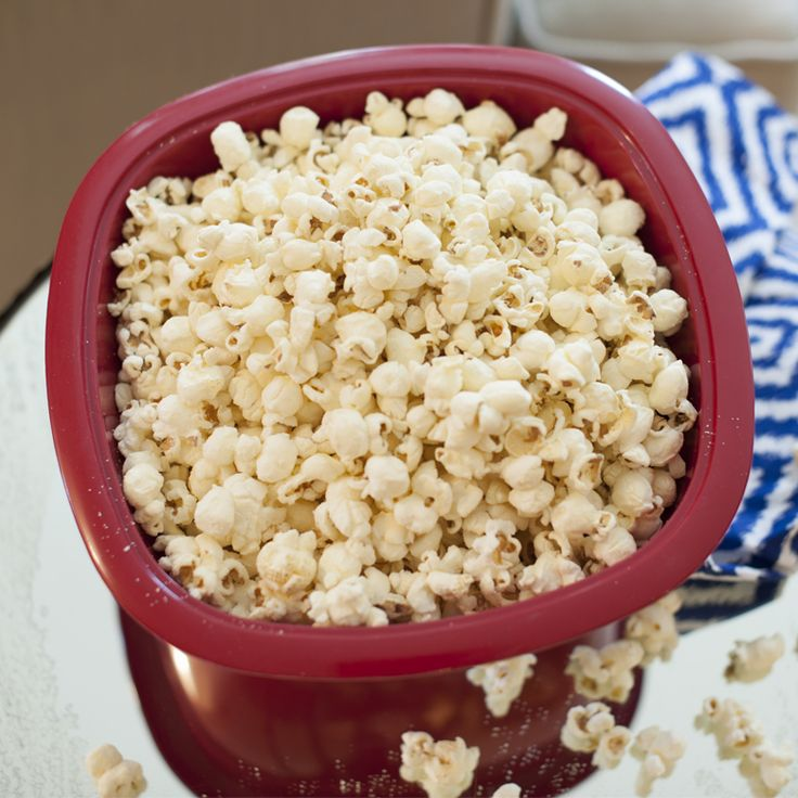 Microwave Popcorn Popper-Red by Nordic Ware - Satisfy your craving for crunch with a & 36 best Quick Meals in the Microwave images on Pinterest ...