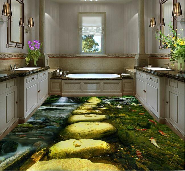 3 d plancher tanche l 39 eau sur mesure linol um 3d. Black Bedroom Furniture Sets. Home Design Ideas