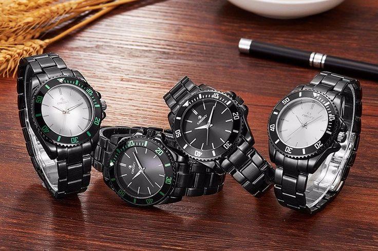 2016 Kingsky Stainless Steel Luxury Fashion Wristwatch