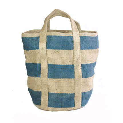 Woven Jute Storage Bag