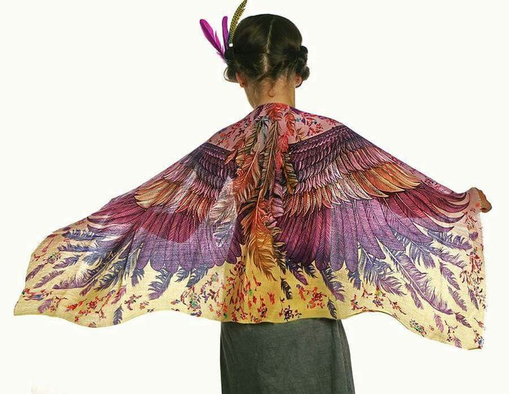 Modal Scarf - I believe, I can fly by VIDA VIDA