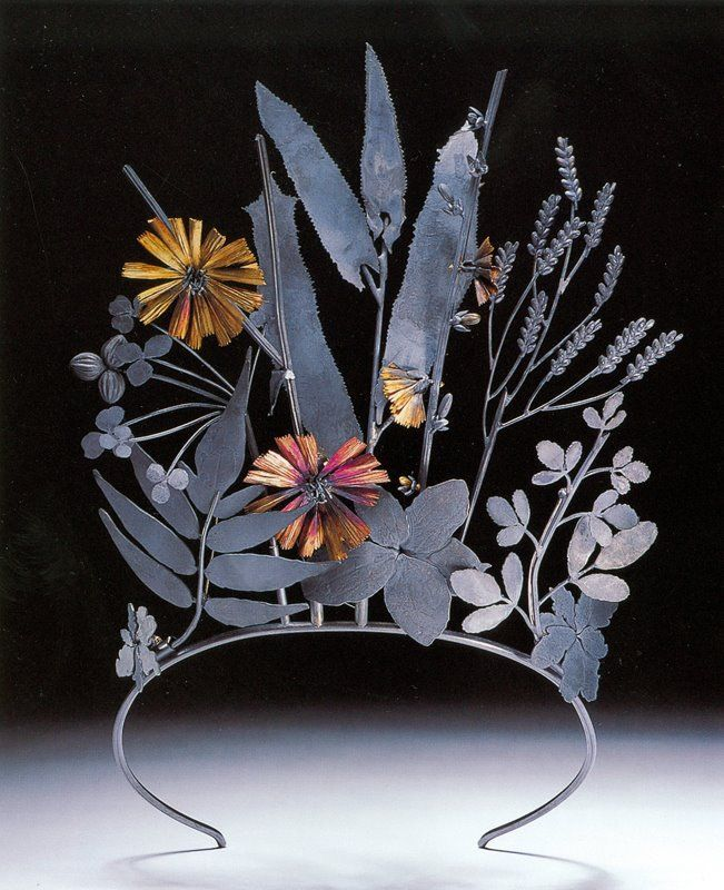 Geoffrey Munn - the silver and gold tiara